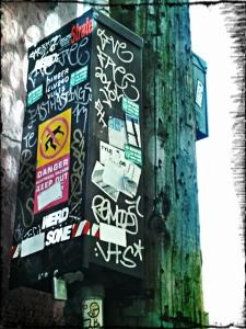 Vancouver graffiti tags (photo) by aviena